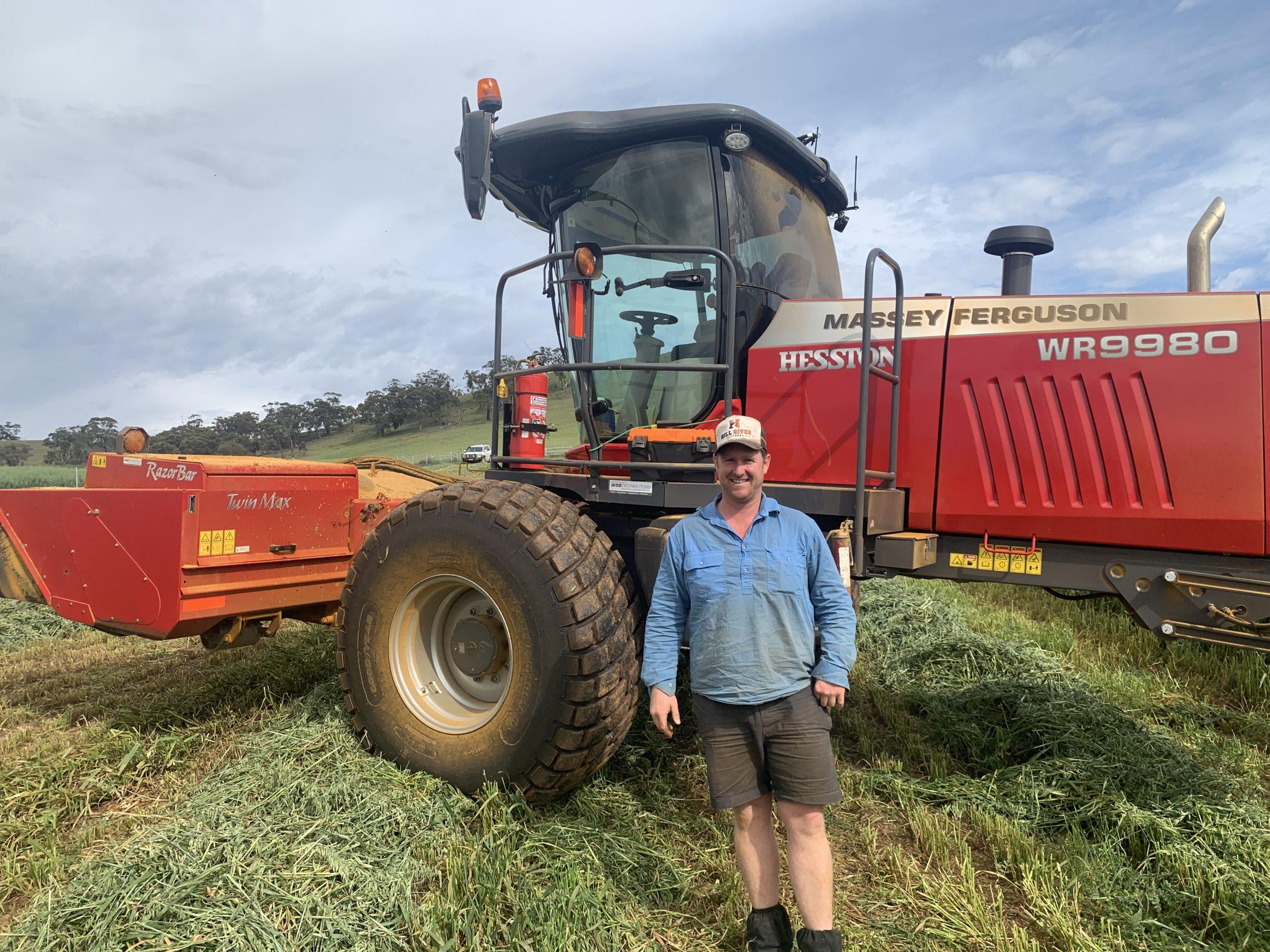 Hay Cutting at Kadlunga