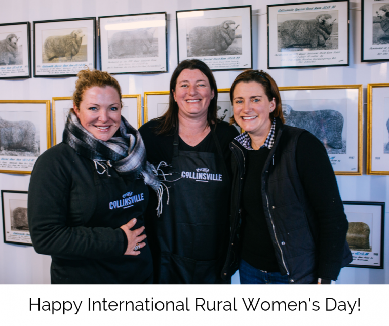 INTERNATIONAL DAY FOR RURAL WOMEN 15 OCTOBER 2018