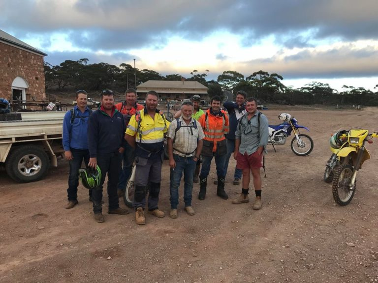 Goat Muster Raises Funds for Burra Booborowie Hallett Football Club.